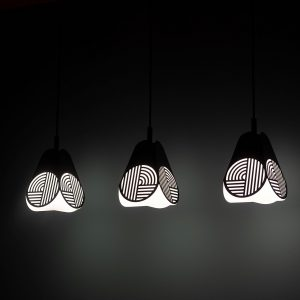 Notic Pendant Light Notic Hanglamp Design Bower Studio voor Oblure