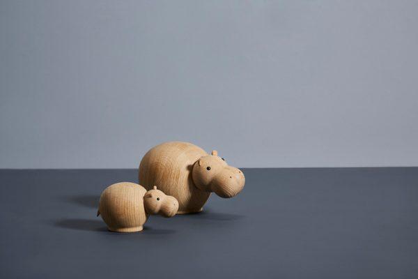 Hibo HippopotamusDesignSteffen Juul voor Woud Houten Nijlpaard