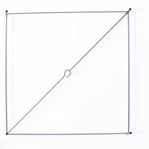 Lotek Frame XS Vierkant voor Lotek Lamp XS design Benno Premsela
