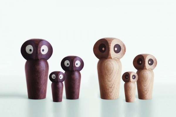 Houten Uil Owl Design Paul Anker Hansen door Architectmade