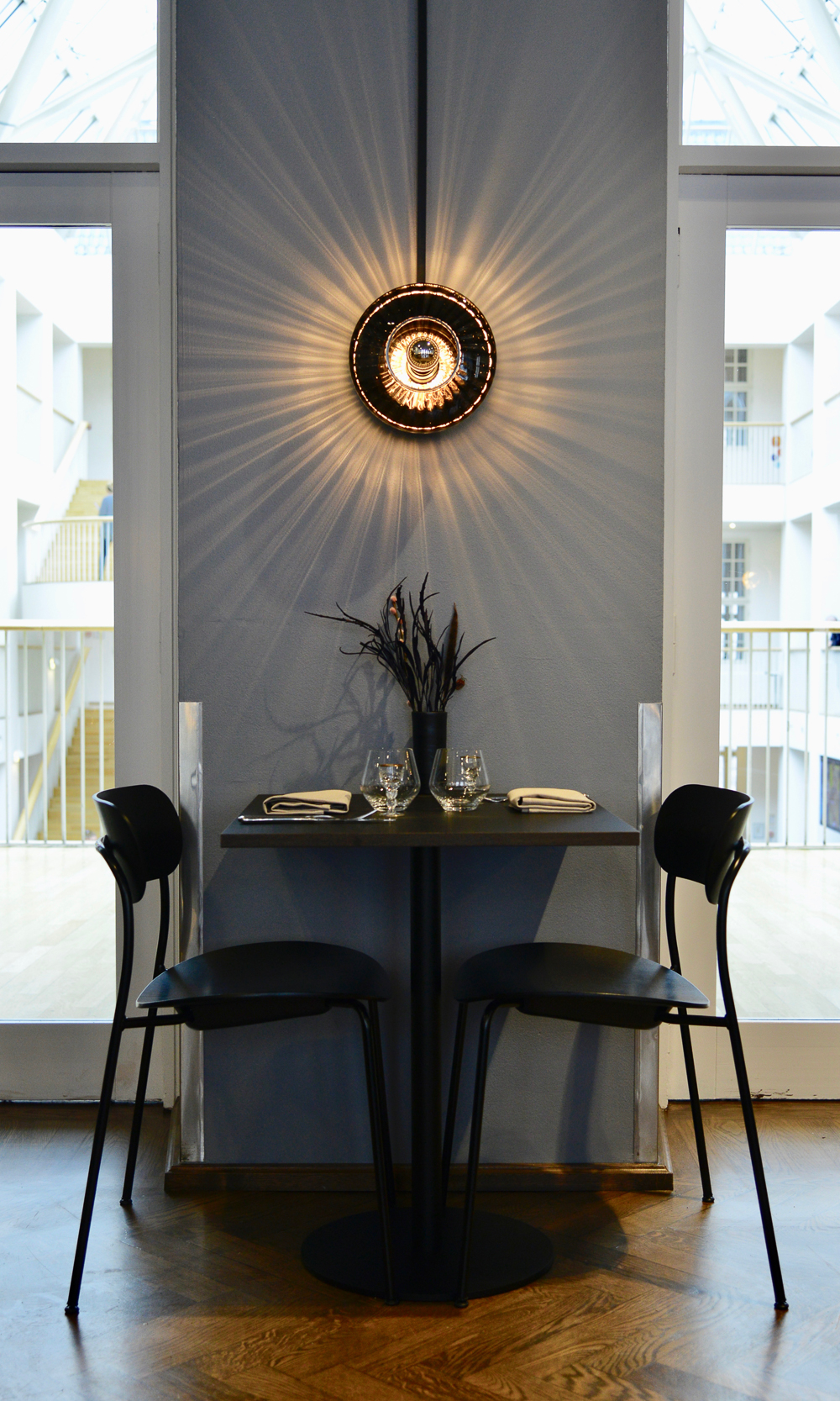 New Wave Optic Wall Lamp Design by US - Smukdesign