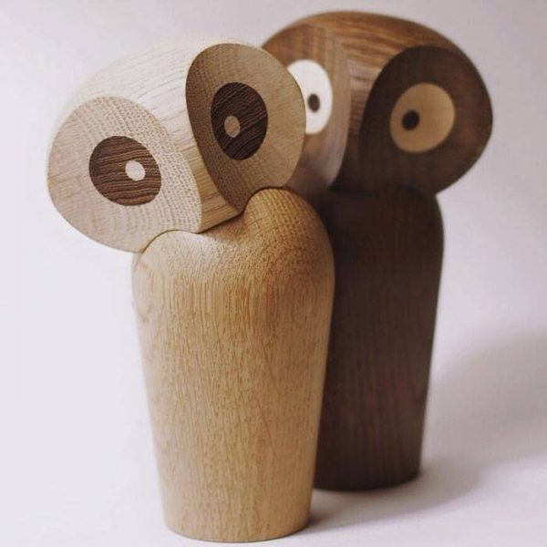Houten Uil Owl Design Paul Anker Hansen door Architectmade