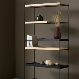 Tray Shelf High Kast Design Hanne Willmann voor Woud