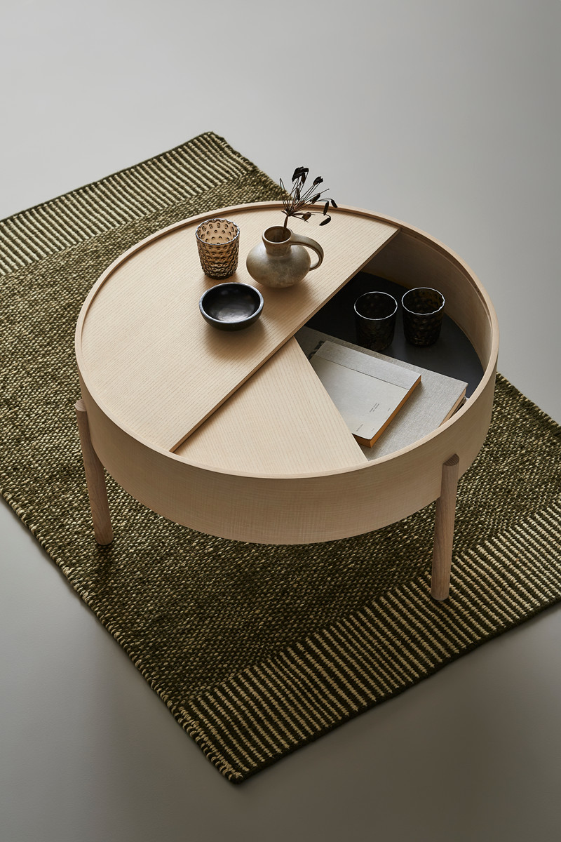 Arc Coffee Table Design Julie Begtrup And Ditte Vad By Woud Smukdesign