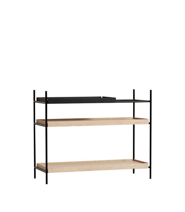 Tray Shelf Low Kast Design Hanne Willmann voor Woud