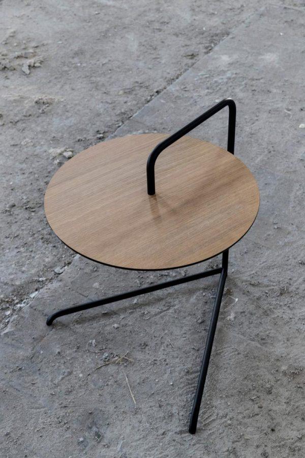 Cymbal Side Table Cymbal Bijzettafel Design Louise Siig Nielsen voor Bent Hansen