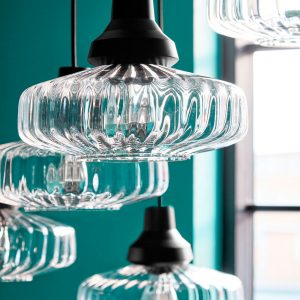 New Wave Optic Pendant Light New Wave Optic Hanglamp ontwerp Design by US