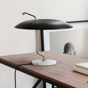 Model 537 lamp Design Gino Sarfatti voor Astep