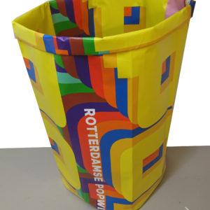 Paperbag Rotterdamse Popweek Design Jos van der Meulen voor Goods