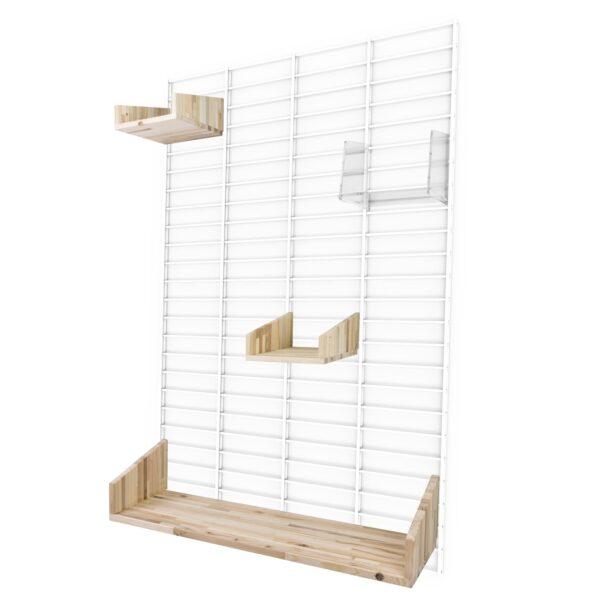 Fency Wandrek Fency Wall Rack Pakket L Design Bastiaan Tolhuijs