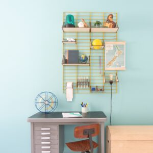 Fency Wandrek Fency Wall Rack Pakket L Design Bastiaan Tolhuijs