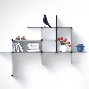 Up the Wall Wandplank Up the Wall Shelf system Design Bent Hansen Studio