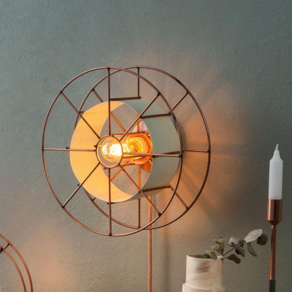 Spool wandlamp Spoon Wall Light Design Bastiaan Tolhuijs voor Tolhuijs