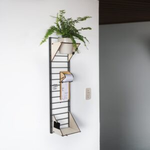 Fency Wandrek Fency Wall Rack Pakket XS Design Bastiaan Tolhuijs