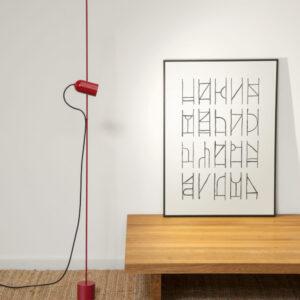 Fa Vloerlamp Fa Floor Design Goula en Figuera voor Gofi