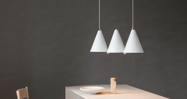 Mosaik Sidebyside 3 Lamp Design Bent Karlby voor Lyfa