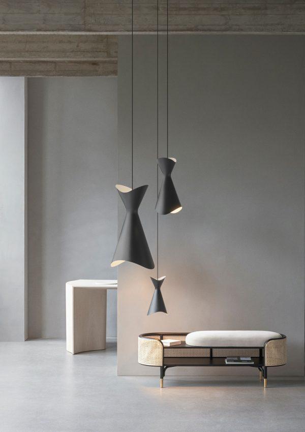 Ninotchka 425 Lamp Design Bent Karlby voor Lyfa
