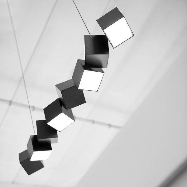 Blockchain Lamp Design Markus Johansson voor Oblure