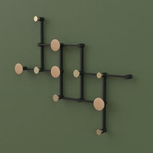 X Tend Kapstok X Tend Coat Rack Design Thomas Pedersen voor LoCa