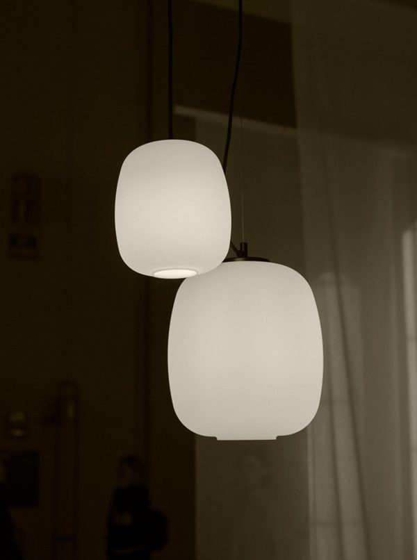 Globo Cestita Hanglamp Design Miguel Mila voor Santa Cole