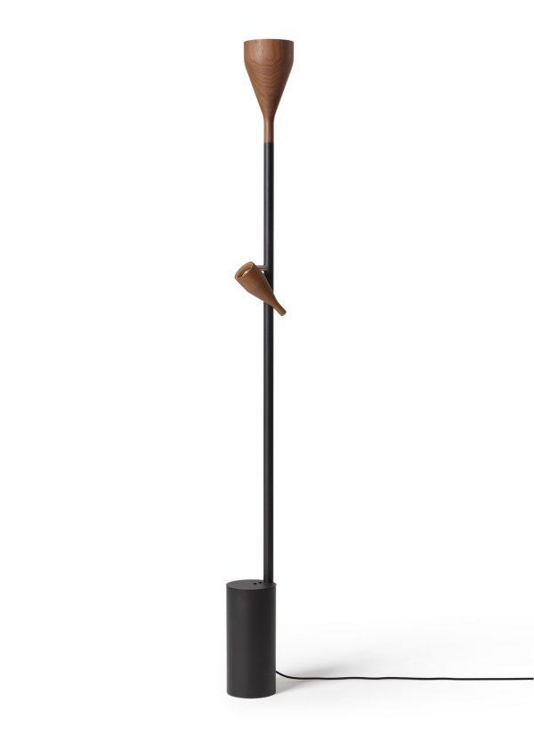 Timber Vloerlamp Timber Floor Lamp Design Ernst Koning voor Hollands Licht