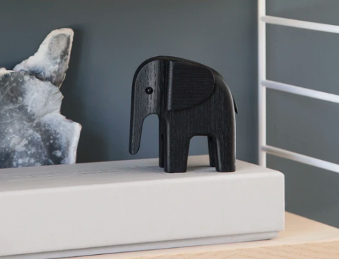 Houten Olifant Wooden Elephant Design Kristian Jakobsen voor Novoform