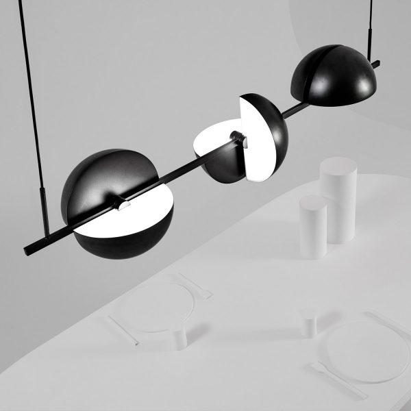 Trapeze Triplette lamp Design Jette Scheib voor Oblure