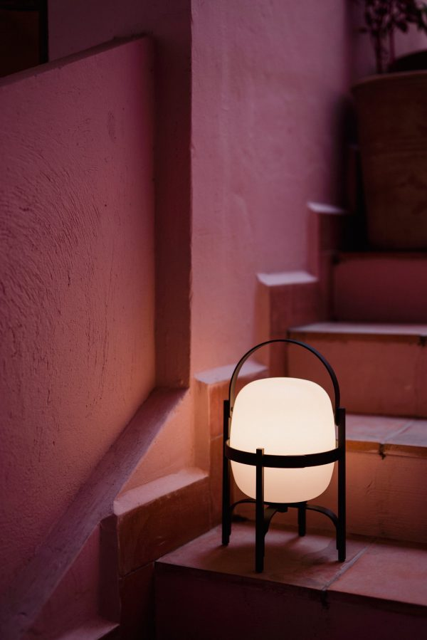 Cestita Alubat Lamp Design Miguel Mila voor Santa Cole